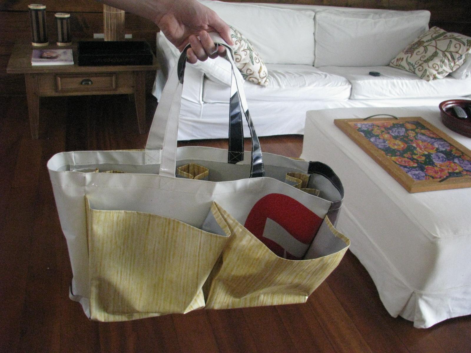ecobag - para compras em supermercado. alternativa aos saquinhos de plástico.