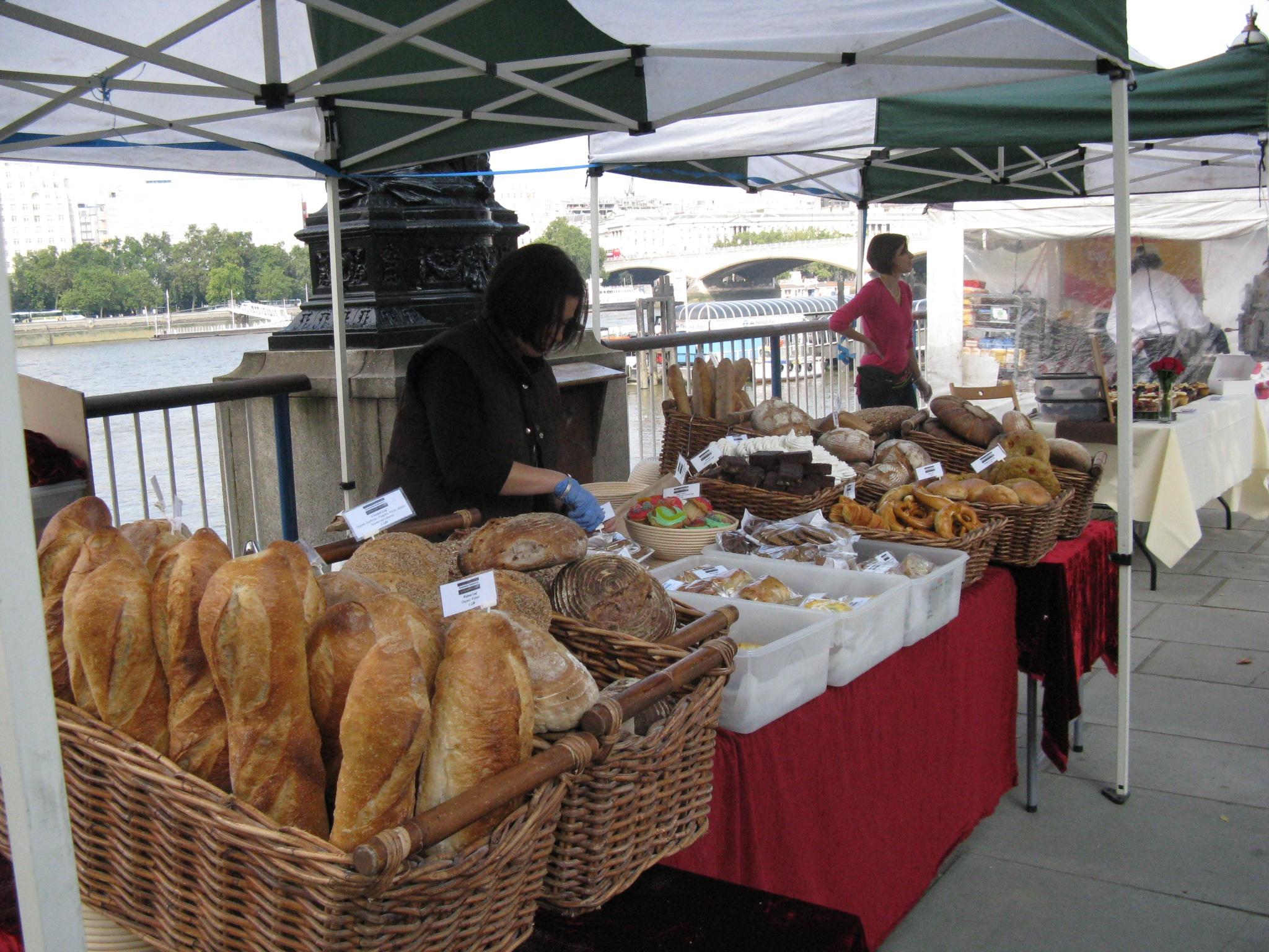 Os pães da Slow Food, em Londres