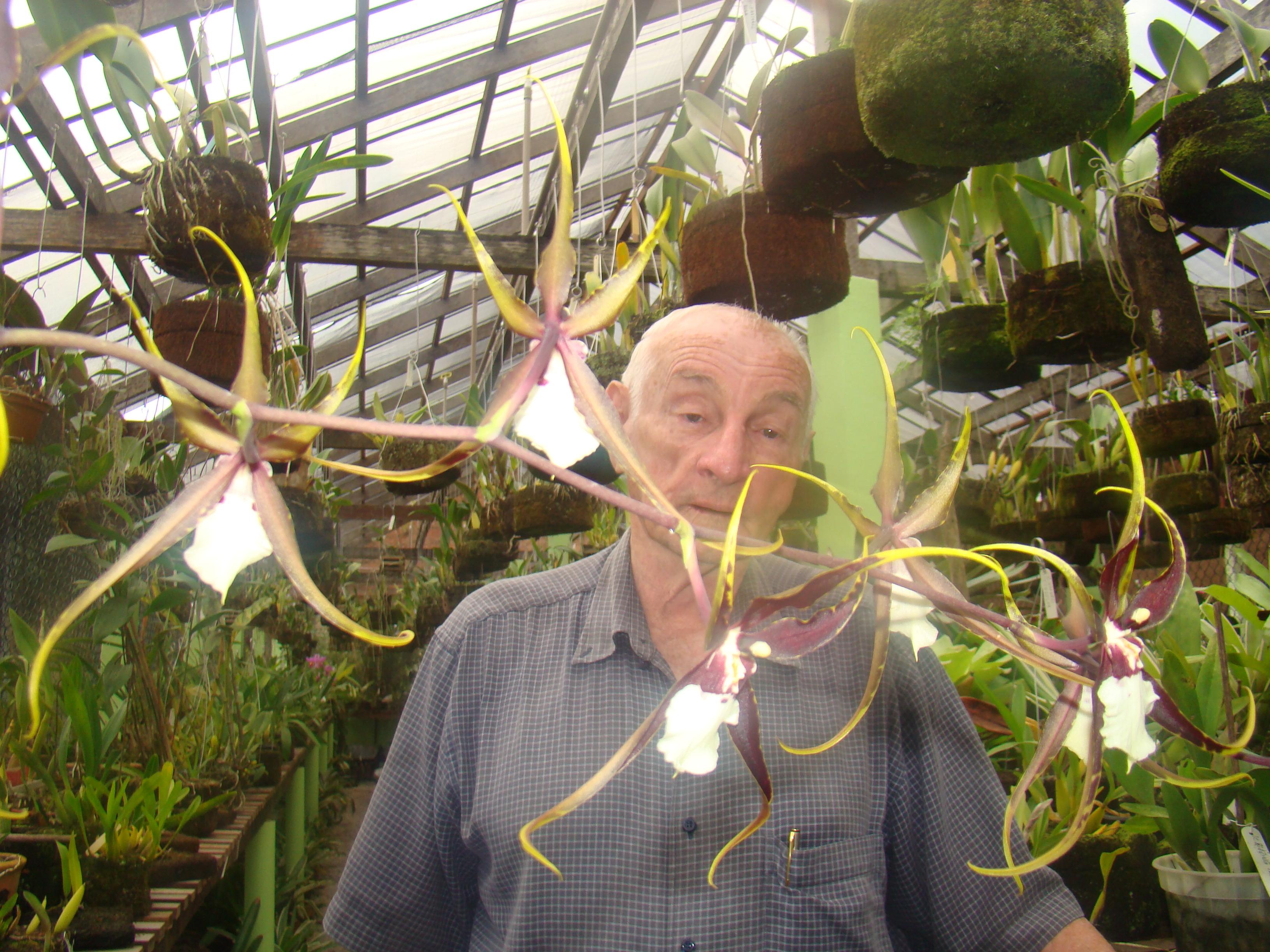 O descobridor de flores revela o segredo da vida no amor pela natureza